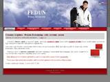 fedun - розробка сайту