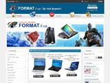 Інтернет-магазин FORMAT.if.ua: Комп`ютери, ноутбуки, переферія, комплектуючі