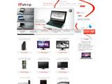 Інтернет магазин ItShop.ua - портативна та цифрова техніка, компютери, периферія, фототехніка, відеотехніка.   Україна.