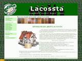 LACOSSTA - броньовані двері з мдф накладками